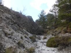 Ríos de blancas piedras