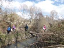Cruzando el Río Gor