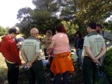 También participaron agentes de medio ambiente
